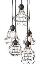 five light pendant leppert associates wire five light pendant