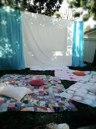that winsome backyard movie nights the kickoff image with