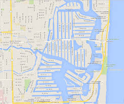 Fort Lauderdale On Map Map Of Ft Lauderdale Canals Next Destination Unknown