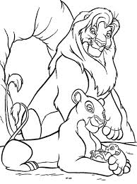 lion king coloring page u2013 corresponsables co