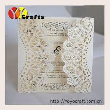 wedding cards usa unique floral kinds cheap invitation card lace design hot sale in