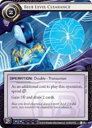 blue level clearance android netrunner comprehensive unofficial