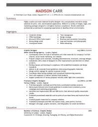 resume exles graphic design best graphic designer resume exle livecareer