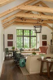home design tranquil living room design with window bay plus