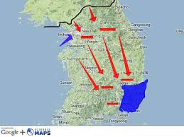 pusan on map pusan perimeter and of incheon