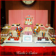 Carnival Themed Table Decorations Circus Carnival Dessert Table Henry Pinterest Dessert Table