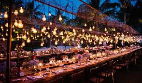 wedding lighting ideas wedding lights ideas tulle chantilly wedding