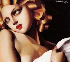 Tamara De Lempicka Art by The Perfume Mistress