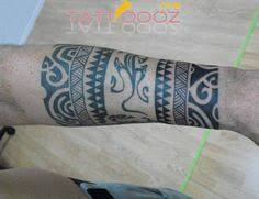 polynesian armband tattoos for men second and last armband in