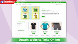 membuat web html cara membuat desain website online shop menggunakan bahasa html dan