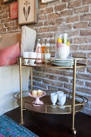 Dining Room Serving Cart by Bar Cart And Serving Station Nesting With Grace