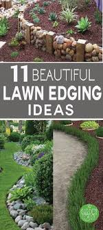 Bush Rock Garden Edging 11 Beautiful Lawn Edging Ideas Edging Ideas Aesthetics And Lawn