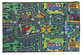 children u0027s mats baby rug kids city roads play car play mat track