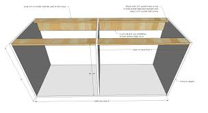 kitchen cabinet carcass plans base pie cut kitchen cabinet