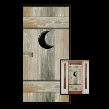 Bathroom Door Designs Funny Outhouse Bathroom Door Cover Western Toilet Over The Hill