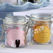 wedding favor jars personalized glass favor jars mini jars