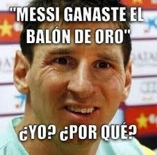 Memes Sobre Messi - chistes sobre la final del mundial y el balón de oro de messi