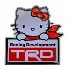 logo de toyota hello kitty batman toyota auto tuning aluminio emblema logo