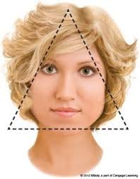 hairstyles for triangle shaped face short hairstyles for triangular shaped faces hair