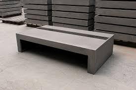 Concrete Coffee Table Concrete Coffee Table With Tempered Glass By Lyon Béton For Lyon Beton