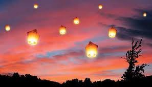 lanterne chinoise mariage lanterne chinoise volante blanche lot de 5 un jour spécial