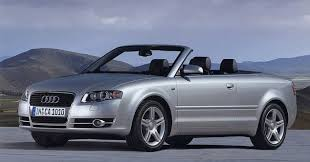 audi a4 coupe convertible top ten convertibles that hold their value best this is