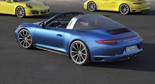 porsche 911 2016 2017 porsche 911 carrera 4 and targa 4 models make debut