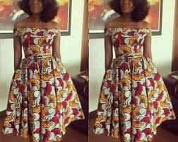 ankara dresses ankara dress etsy