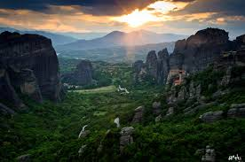 Meteora Greece Map by Greece Attractions And Landmarks Wondermondo