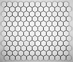 hexagon white porcelain mosaic tile matte look 1x1 inch ceramic