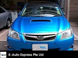 subaru exiga 2009 buy used subaru exiga mpv 2 0gt turbo moonroof awd 5at car in