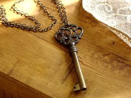 vintage key necklace images Antique skeleton key necklace key to the conservatory flickr jpg