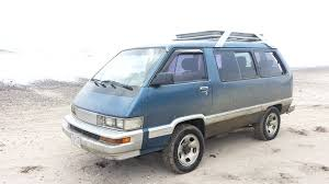 toyota vans cars of a lifetime 1989 toyota 4 4 van the second death or