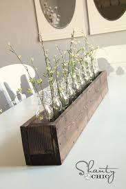 Kitchen Table Decoration by Best 25 Wooden Box Centerpiece Ideas On Pinterest Table