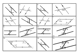 angles in parallel lines z f and x angles by sbinning