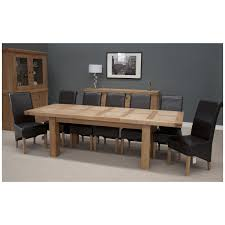 Large Oak Kitchen Table by Phoenix Solid Oak Furniture Extra Large Grand Extending Dining