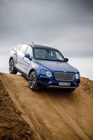 blue bentley 2016 first bentley bentayga deliveries kick off in crewe england