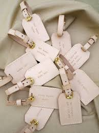 tags for wedding favors wedding favors ideas luggage tags wedding favors destination