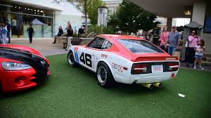 datsun race car datsun 240z bre race car festivals of speed avalon youtube