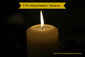 Advent Candle Lighting Readings 5 Free Advent Studies And Resources