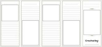 Plain Brochure Template by 16 Modern Blank Brochure Psd Templates Free Premium Templates
