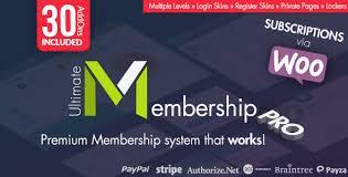 ultimate membership pro wordpress plugin v6 4 web graphics theme
