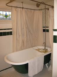 Clawfoot Tub Shower Curtain Ideas Clawfoot Tub Shower Curtain Size Shower Curtains Ideas