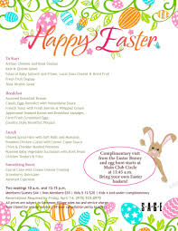 easter sunday brunch 10 a m seating with easter bunny visit
