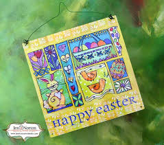 Etsy Easter Door Decorations by Easter Door Decoration Ready To Hang By Jennortonartstudio On Etsy