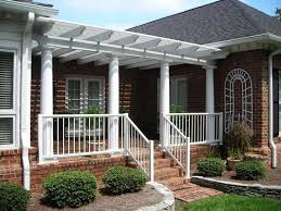 Pergola Designs With Roof by 150 Best Front Porch Pergola Images On Pinterest Craftsman Homes