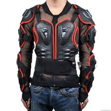 leather motorcycle accessories arrow motorcycle full body armor jacket spine chest protection gear