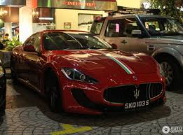 red maserati granturismo maserati granturismo mc stradale 16 march 2017 autogespot