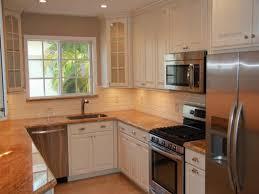 kitchen desk design tag for best design for small u shaped kitchen kitchen silver