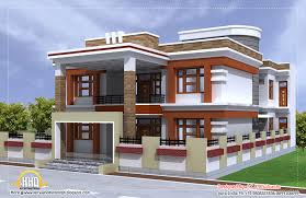 Kerala Home Plan Single Floor Sq Ft Beautiful Double Story House Plan Indian Home Decor Simple
